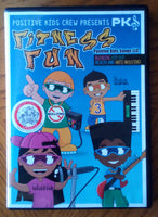 Fitness Fun by Positive Kids Songs - Wonders of the World Book and Toy Store