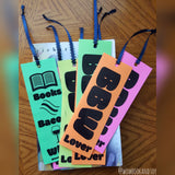 BBW Lovers bookmark - Wonders of the World Book and Toy Store