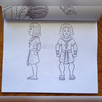 Nefertiti & Ramses: Coloring Book