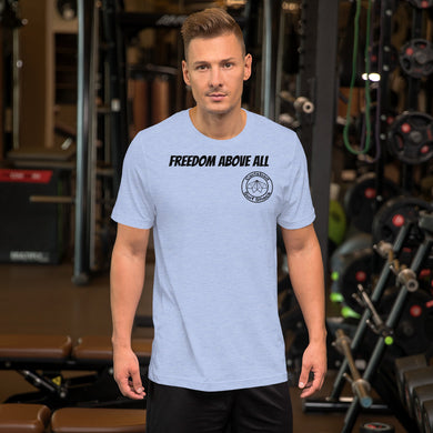 Freedom Above All Carlsbad Surf Shack Tee Shirt