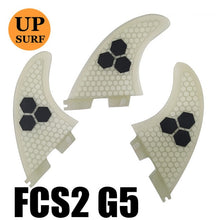 Surf Fins FCS2 Fins G5/G7/G3 Light Blue FCS II Tri fin set Fiberglass new design blue,red, yellow,black,white,green color
