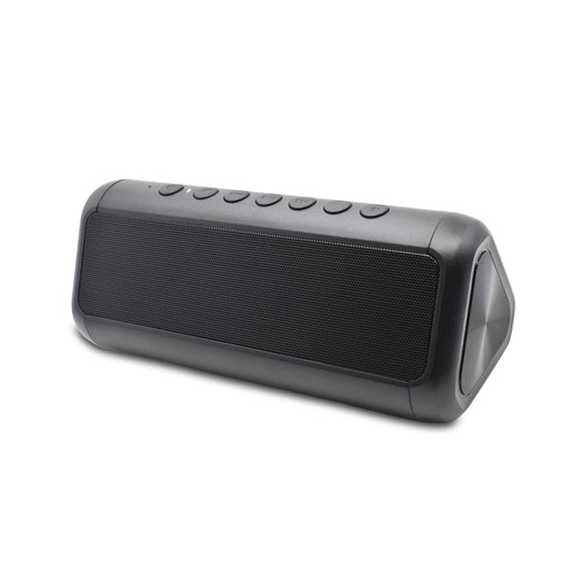 Waterproof Bluetooth Speaker Portable Column Wireless Stereo Music Box Solar Power Bank Boombox MP3 Loudspeaker Outdoor Speakers