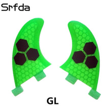 srfda surf fin for FUTURE FCS FCS2 box 2pcs/Set GL GX K2.1 G3 G7 size surfboards fins fiberglass Surf Fin  two pieces per set