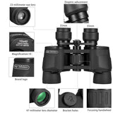 Aurosports 10x40 Professional High Power Wide Angle Waterproof Binoculars, Super Clear And Sharp View, Manual Focus with Low Light Night Vision,Perfect for Hunting,Bird-Watching, Astronomy,Concerts