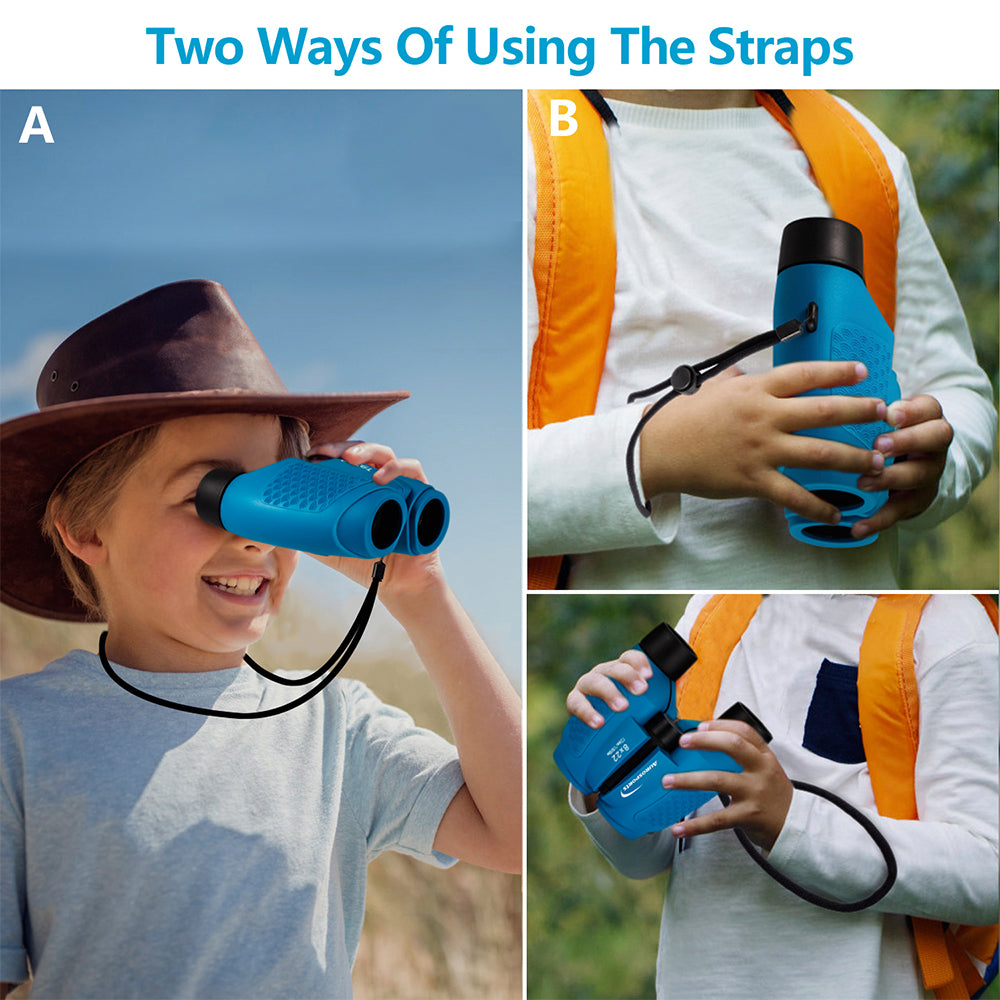 Aurosports Auto Focus Binoculars for kids(Blue)