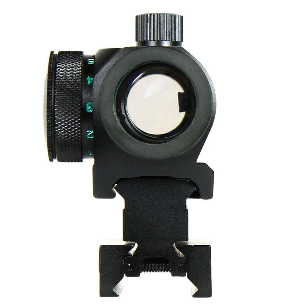 Aurosports Tactical Reflex Red Green Dot Sight Scope for Hunting