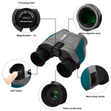 Aurosports 12x25 Compact Binoculars for Adults Kids(Green)