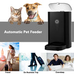 Occer 4.5L Pet Feeder Automatic Food Dispenser For for Dogs & Cats,with Voice Recording,LCD Display,Timer Programmable,Auto Timed Pet Feeders Up to 4 Meals a Day