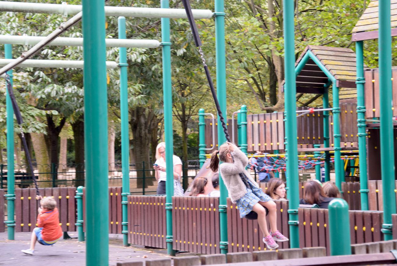Luxembourg playground Paris kids trip Victoria Road