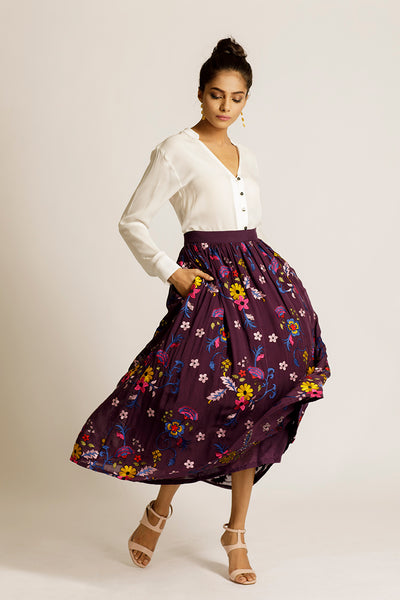 The Esma Skirt | Zinnia