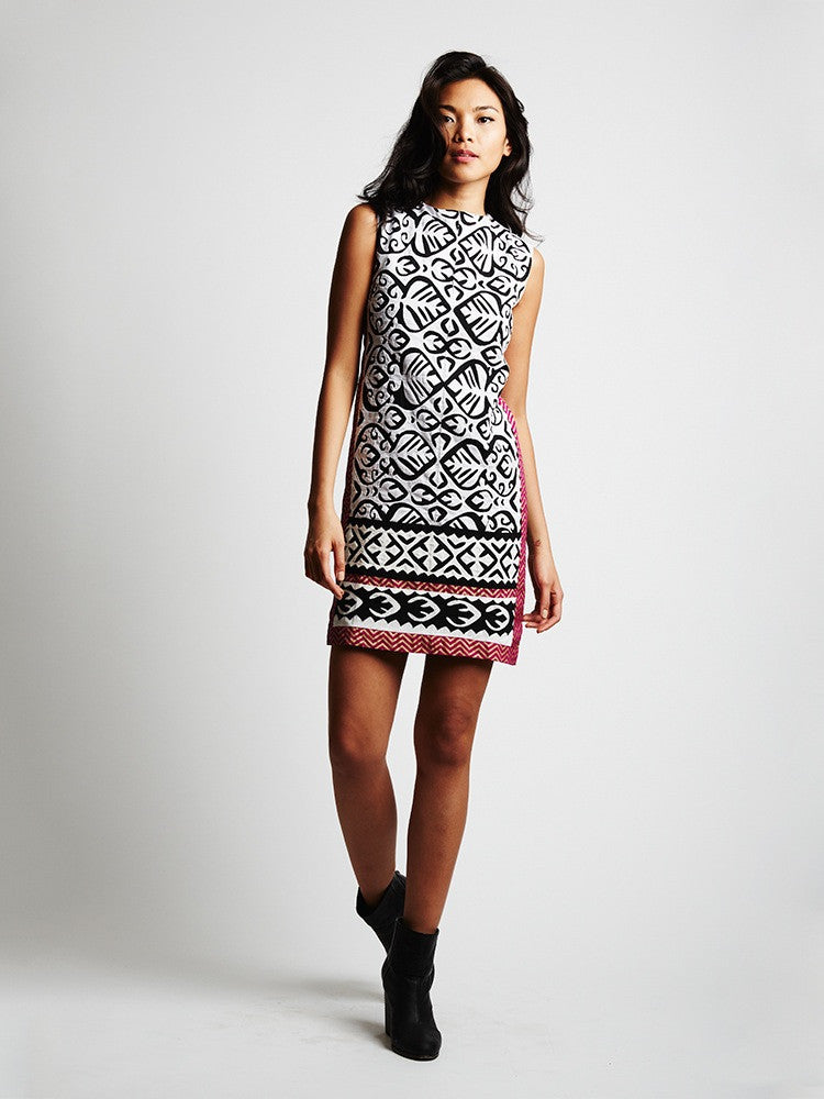 The Cascade Shift Dress