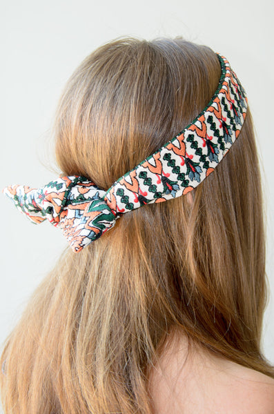 The Upcycled Tie Headband