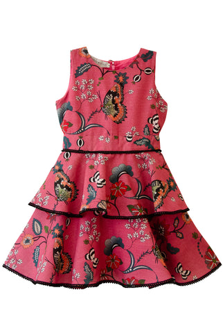 The Mini Martina Dress | Pink Curious Butterflies