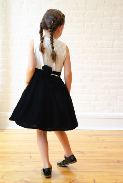 The Anna Holiday Twirly Dress