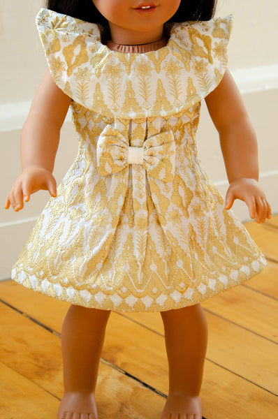 "The Alexa Dress for 18"" Dolls 