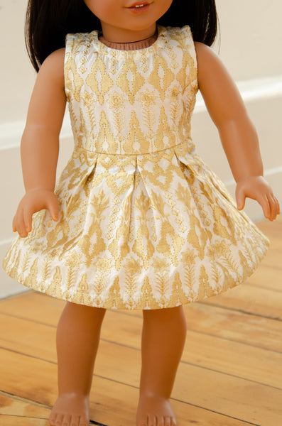 "The Sonya Twirly Dress for 18"" Dolls 