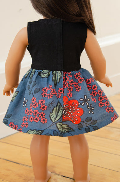 "The Anna Twirly Dress for 18"" Dolls 