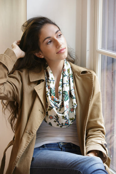 The Karina Scarf Necklace - SAMPLE