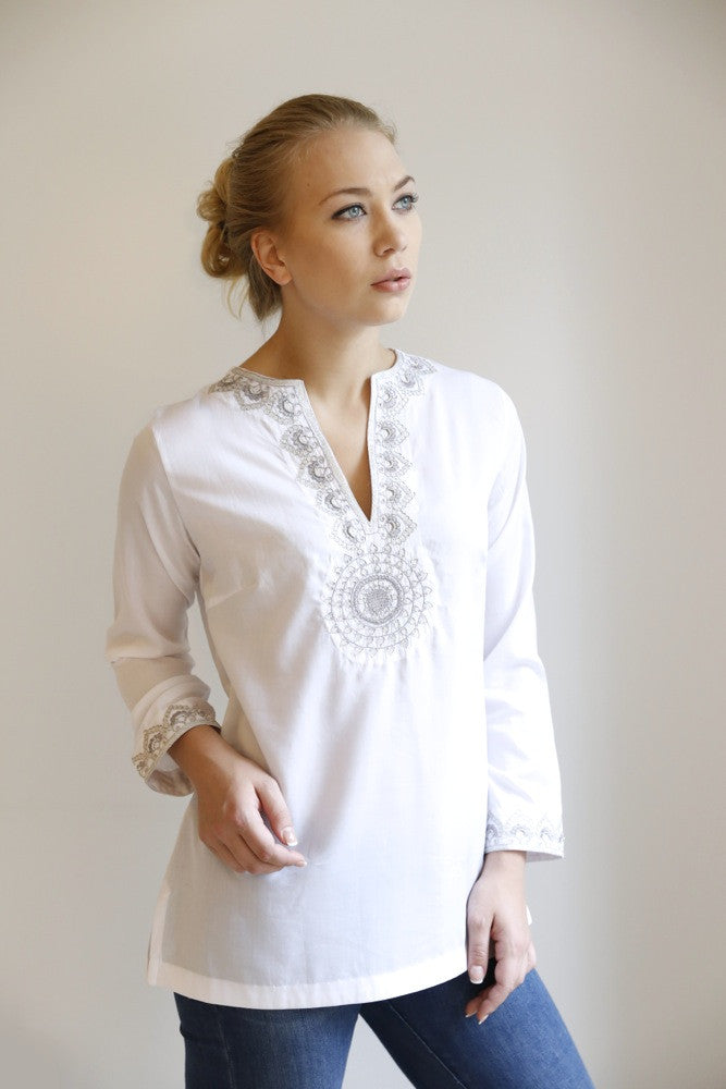 The Adda Cotton Tunic