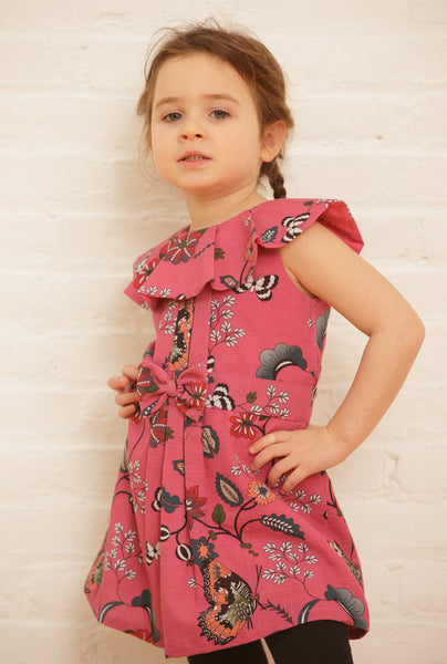 The Alexa Dress | Pink Curious Butterflies