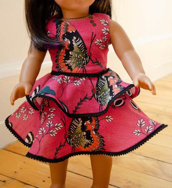 "The Mini Martina Dress for 18"" Dolls"