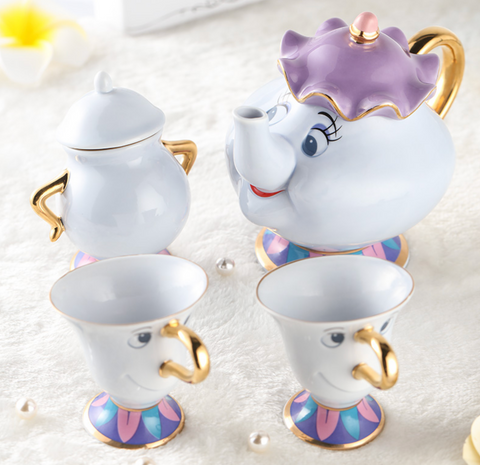 Mrs Potts, Chip and Sugar Bowl