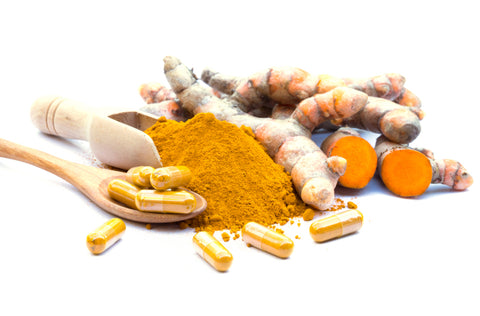 Turmeric powder and caps