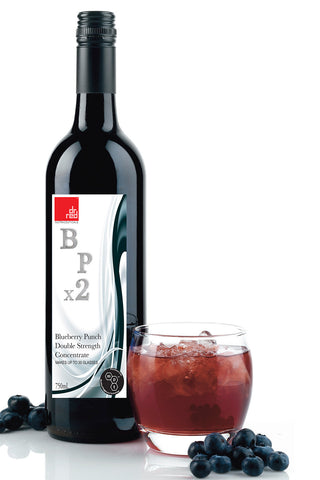 BPx2 : Double Strength Blueberry Punch Concentrate 750mls