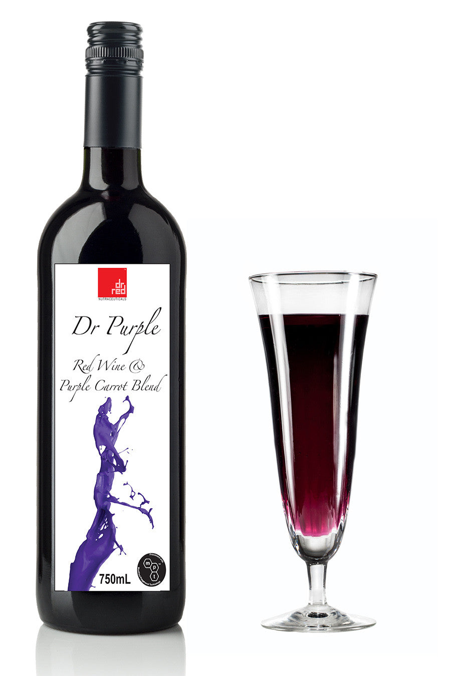 Dr Purple : Red Wine & Purple Carrot Blend 750mls