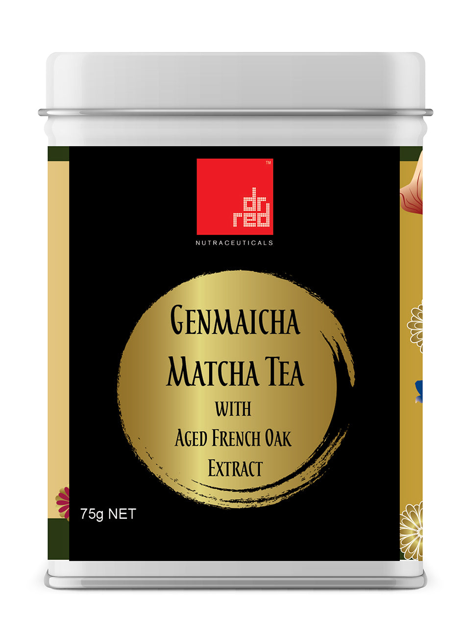 Genmaicha Matcha Tea with Aged French Oak Extract
