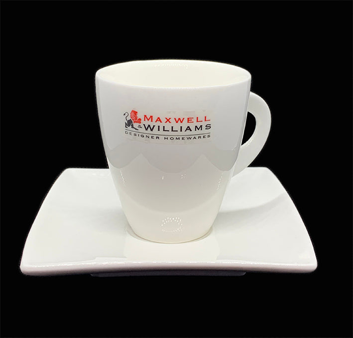 Maxwell & Williams White Tulip Cup & Saucer 200ml