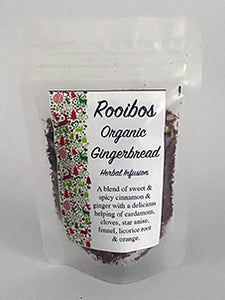 Rooibos Organic Gingerbread Herbal Infusion - 25gm