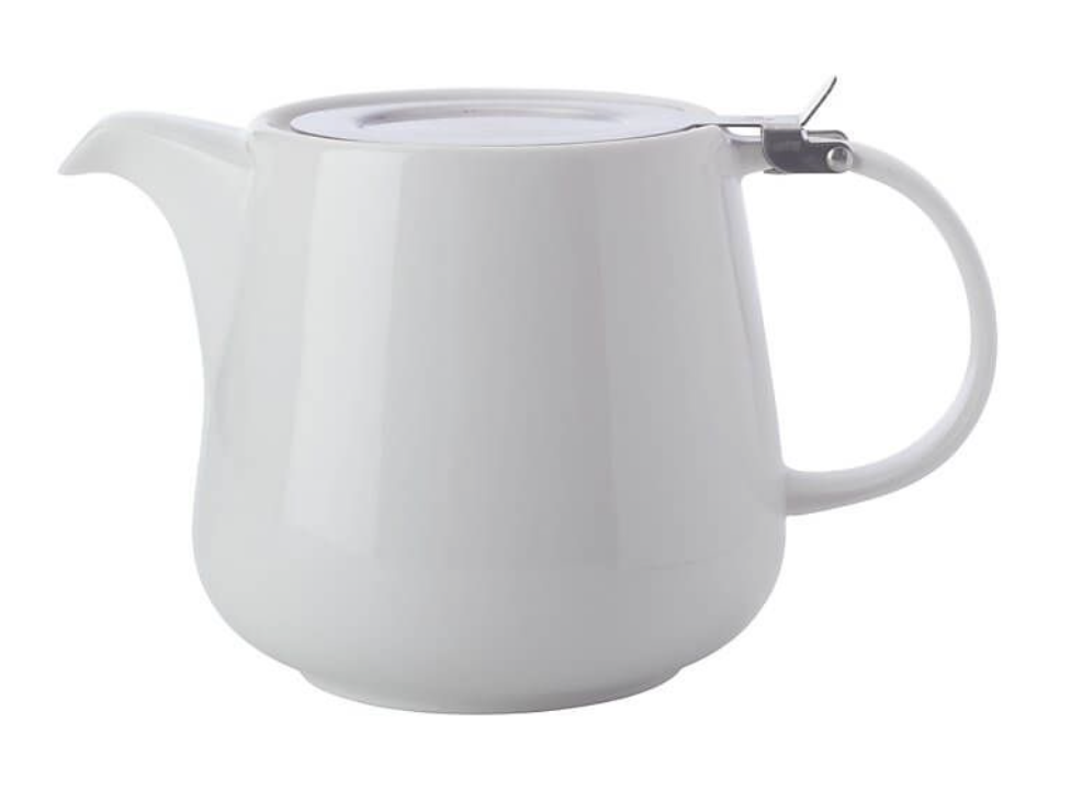 Maxwell & Williams White Basics Teapot with Infuser 600ml White