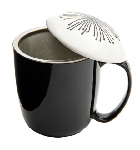Stoneware Tea Infuser Mug 325ml