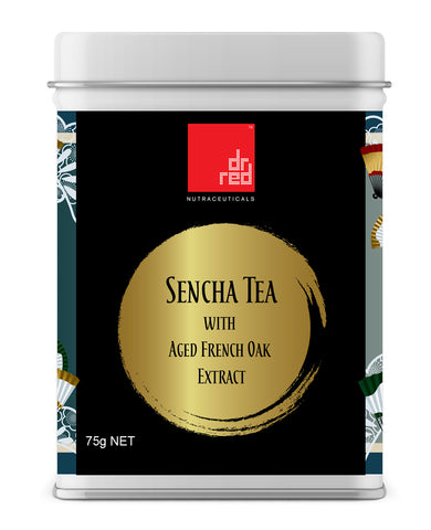 Sencha tea aged oak extract