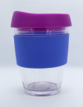 Smash Barista Buddy Reusable Glass Cup 340 ml - Assorted Colours
