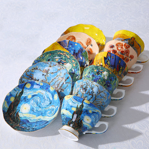 The New Van Gogh Art Painting Tea & Coffee Cups
