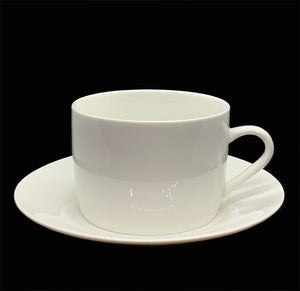 White Cup & Saucer