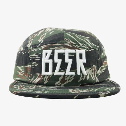 Beer Tiger Camo 5Panel