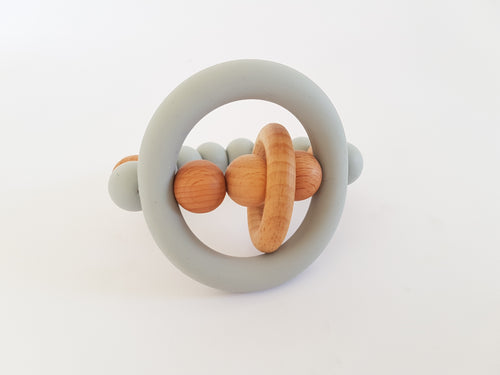 Neptune Teething Rattle