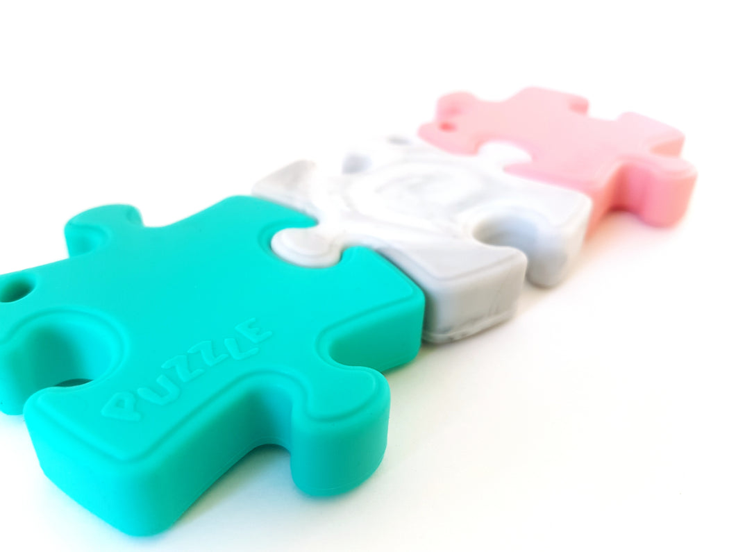 Jigsaw Teether Trio Pack