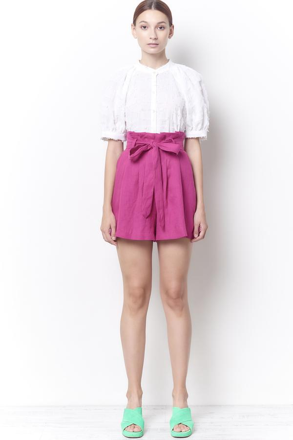 ALEXA HIGH WAISTED LINEN SHORT