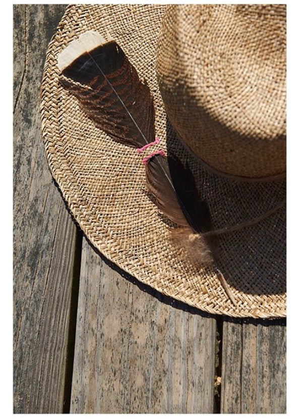 BILLY BOB FEATHER HAT