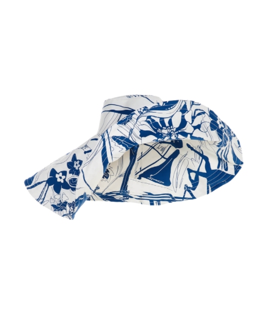 ABSTRACT PRINT HAT
