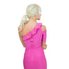 Bandage Dress With Ruffles