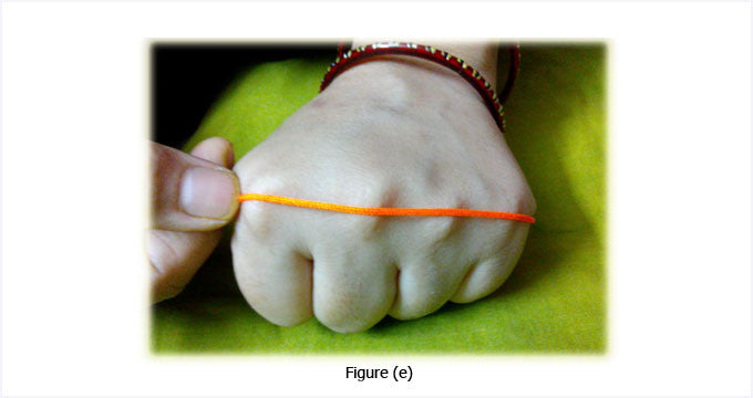 Measuring size with thread sigeeka