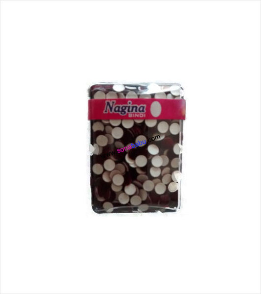 Box full of maroon plain bindi