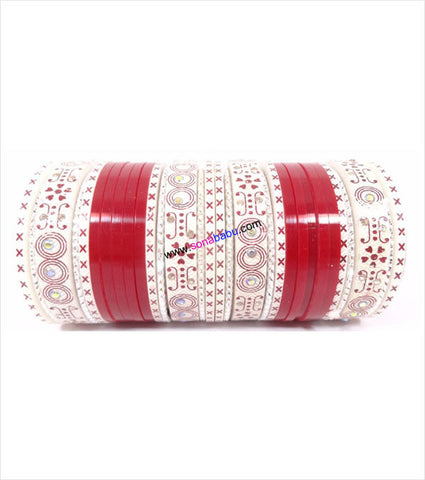 Red suhag chura small set
