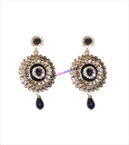 Designer danglers with black drop