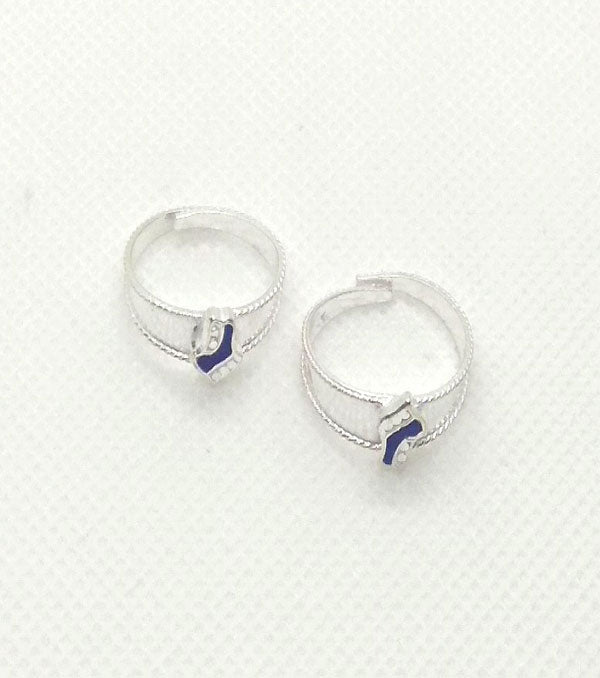 Silver Toe Rings with beautiful design for Women's